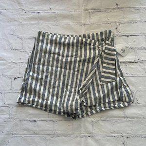 Linen Collection Stripe Skort